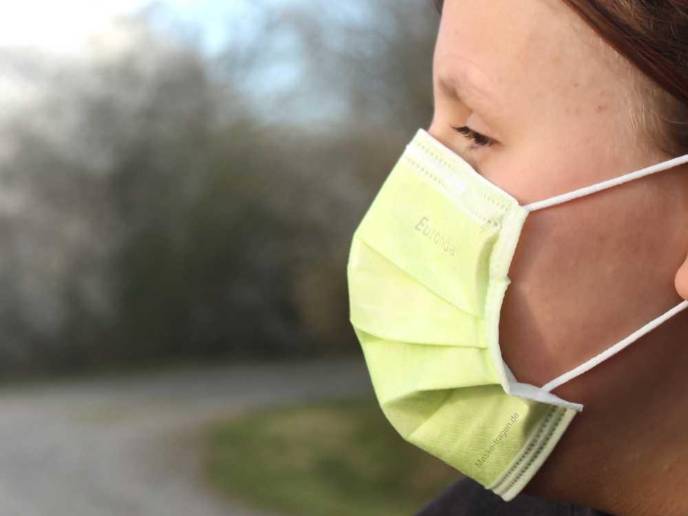 Leichter Mund-Nasen-Maske Coronavirus