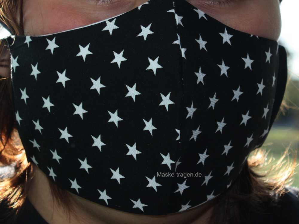Premium Gesichtsmaske mit einlösbarem Filter