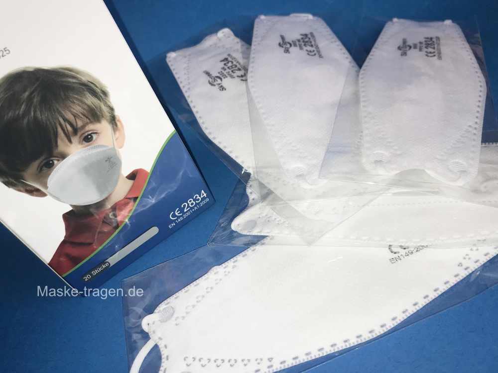FFP2 Masken Kinder - mit spezieller Passform für Kindergesicht